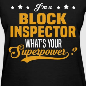 Block Inspector - Women's T-Shirt