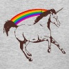 Unicorn with rainbow - Women's T-Shirt