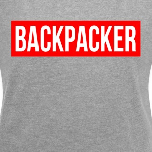 BACKPACKER TRIP ADVENTURE T-Shirts - Women´s Rolled Sleeve Boxy T-Shirt