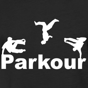 Parkour T-Shirts - Fitted Cotton/Poly T-Shirt by Next Level