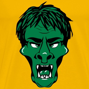 Horror face T-Shirts - Men's Premium T-Shirt