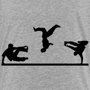 Freerunning, free running, Artistics Baby & Toddler Shirts - Toddler Premium T-Shirt