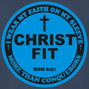 Round Christ Fit label - Men's Premium T-Shirt