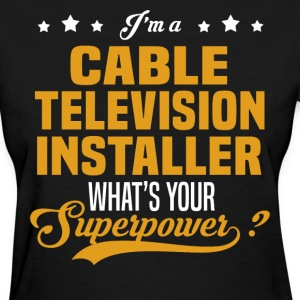 Cable Television Installer - Women's T-Shirt
