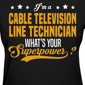 Cable Television Line Technician - Women's T-Shirt