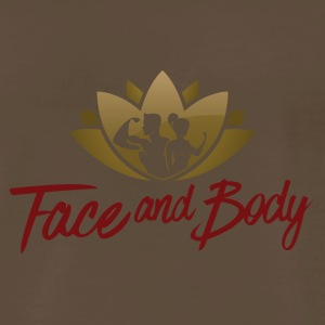 Face and Body - Men's Premium T-Shirt