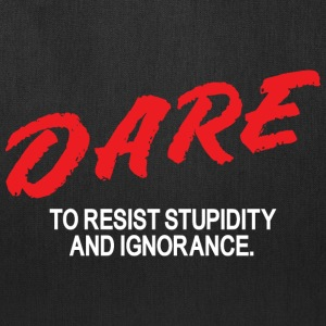 Dare to resist - Tote Bag