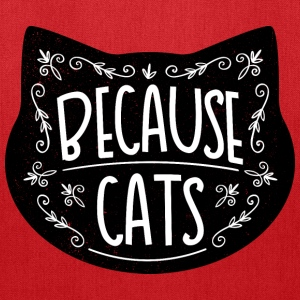 Because cats - Tote Bag