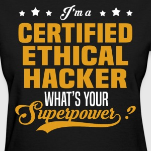 Certified Ethical Hacker - Women's T-Shirt