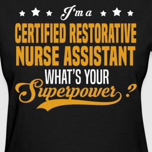 Certified Restorative Nurse Assistant - Women's T-Shirt