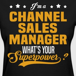 Channel Sales Manager - Women's T-Shirt