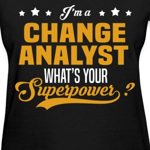 Change Analyst - Women's T-Shirt