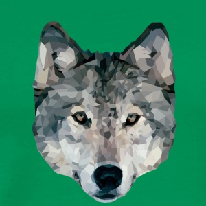 Wolf Polygons - Men's Premium T-Shirt