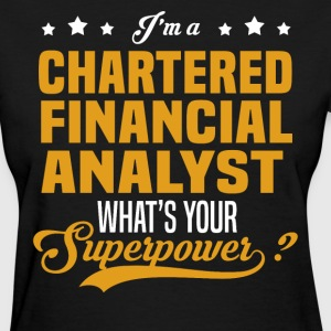 Chartered Financial Analyst - Women's T-Shirt