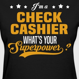 Check Cashier - Women's T-Shirt
