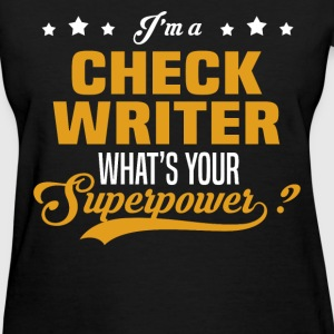 Check Writer - Women's T-Shirt