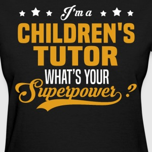 Children's Tutor - Women's T-Shirt