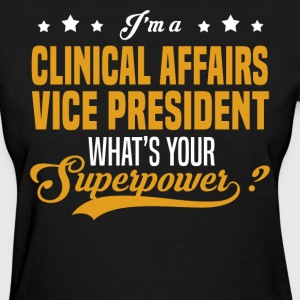 Clinical Affairs Vice President - Women's T-Shirt