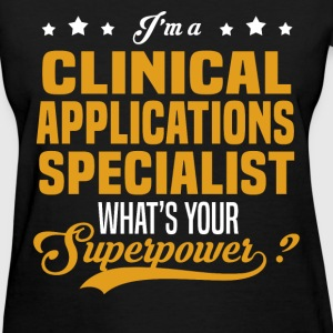 Clinical Applications Specialist - Women's T-Shirt