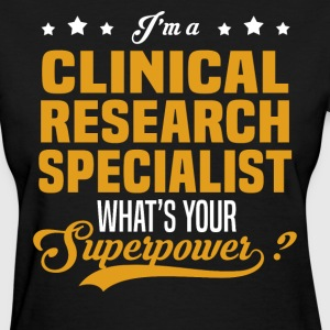 Clinical Research Specialist - Women's T-Shirt