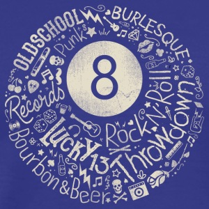 Eight Ball a Rock N' Rollin - Men's Premium T-Shirt