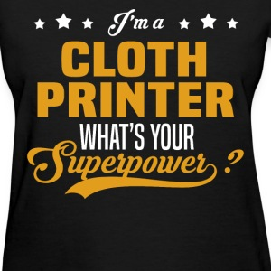 Cloth Printer - Women's T-Shirt