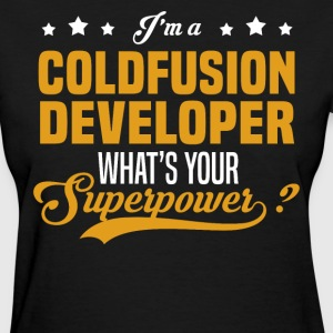 Coldfusion Developer - Women's T-Shirt