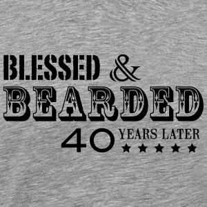 BEARD 40 YEARS - Men's Premium T-Shirt