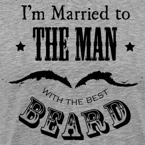Married to the Beard - Men's Premium T-Shirt