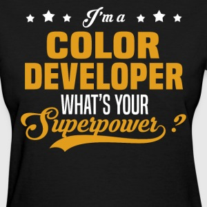 Color Developer - Women's T-Shirt