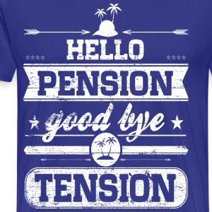 Hello Pension T-Shirts - Men's Premium T-Shirt