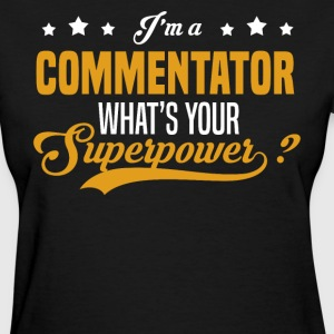 Commentator - Women's T-Shirt