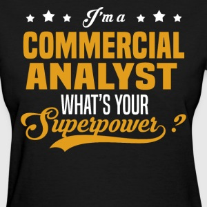 Commercial Analyst - Women's T-Shirt