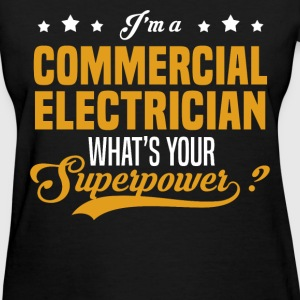 Commercial Electrician - Women's T-Shirt