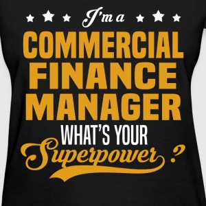 Commercial Finance Manager - Women's T-Shirt