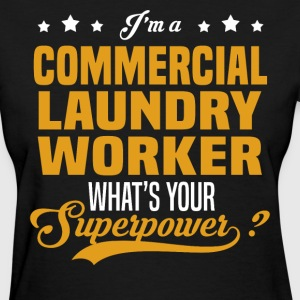 Commercial Laundry Worker - Women's T-Shirt