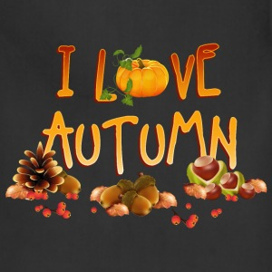 i_love_autumn_11_201603 Aprons - Adjustable Apron
