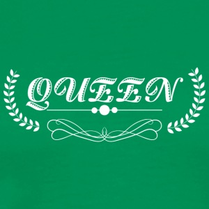 Queen white - Men's Premium T-Shirt