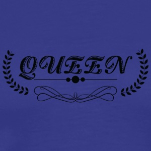 Queen black - Men's Premium T-Shirt