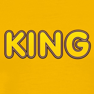 King yellow - Men's Premium T-Shirt