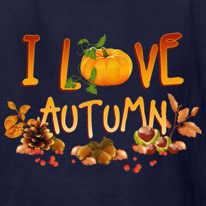 i_love_autumn_11_201602 Kids' Shirts - Kids' T-Shirt