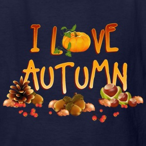 i_love_autumn_11_201603 Kids' Shirts - Kids' T-Shirt