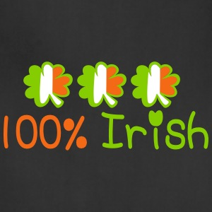 ♥ټ☘I'm 100% Irish-Irish Power Apron☘ټ♥ - Adjustable Apron