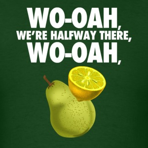 lemon on a pear - funny misheard lyrics - Men's T-Shirt