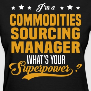 Commodities Sourcing Manager - Women's T-Shirt