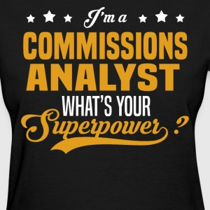 Commissions Analyst - Women's T-Shirt