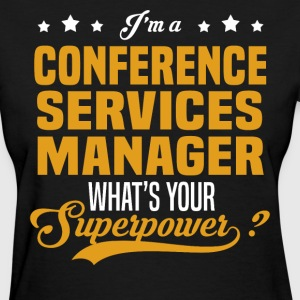 Conference Services Manager - Women's T-Shirt