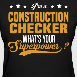 Construction Checker - Women's T-Shirt
