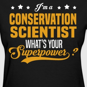 Conservation Scientist - Women's T-Shirt
