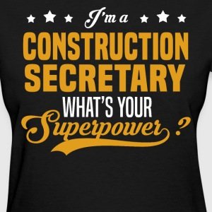 Construction Secretary - Women's T-Shirt